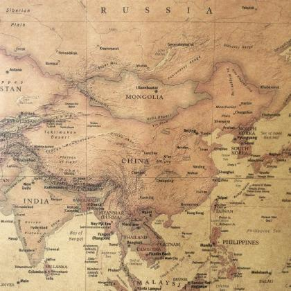 *Free Shipping* The old World Map h..