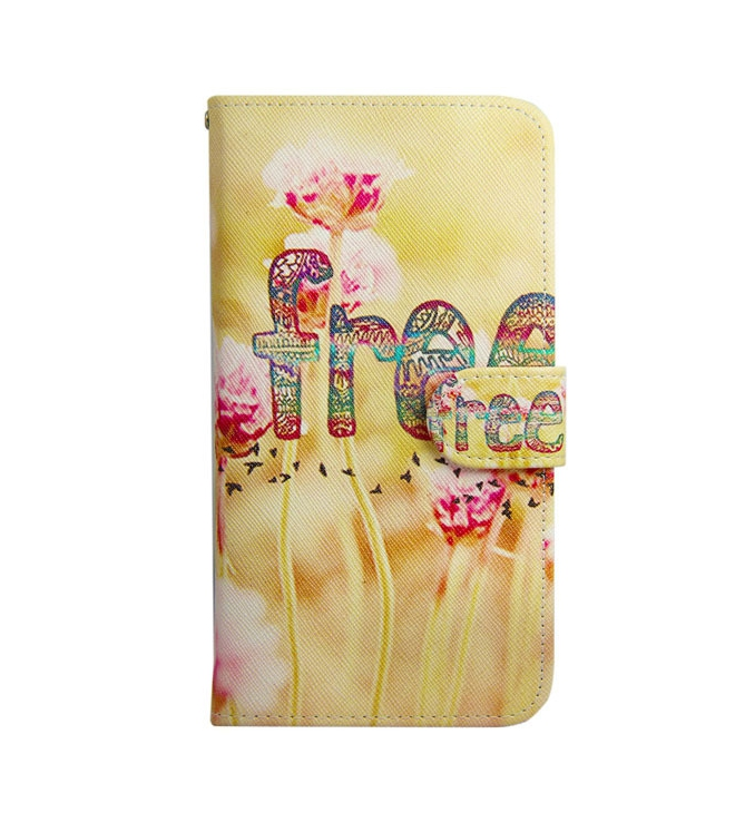 *Free Shipping* Illustration Fashion Sytle Leather Filp Phone bags For Samsung S3 mini i8190 Case Stand Holder Cover Cases With Card Slot