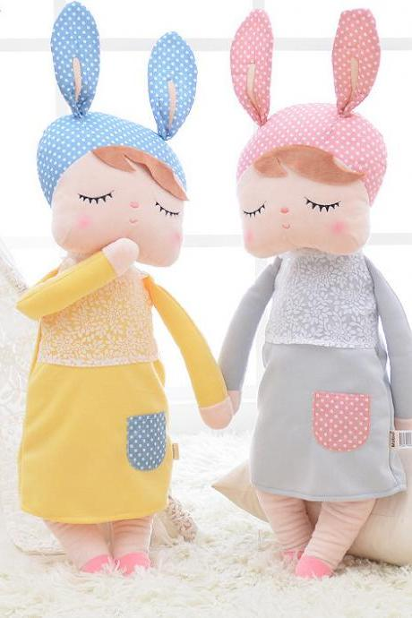 Kawaii Stuffed Plush Animals Cartoon Kids Toys for Girls Children Baby Birthday Christmas Gift Angela Rabbit Girl Metoo Doll 32679986224