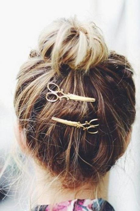 *Free Shipping* 1PC Hair Clip Hair Accessories Headpiece Alloy Girl Hairpin Accessories Fashion Adult Solid Hairclip Hair Care Styling Tools 32819646794