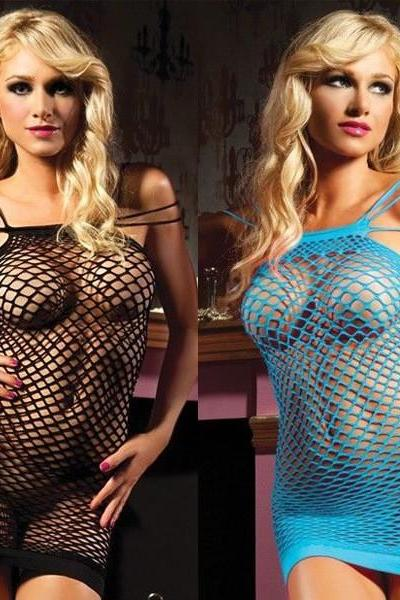 *FREE SHIPPING* Sexy Lingerie Women Hot Sexy Costumes Dress Erotic Lingerie langerie sexiest Sleepwear Pajamas For Women Baby Doll camisola 1906470498