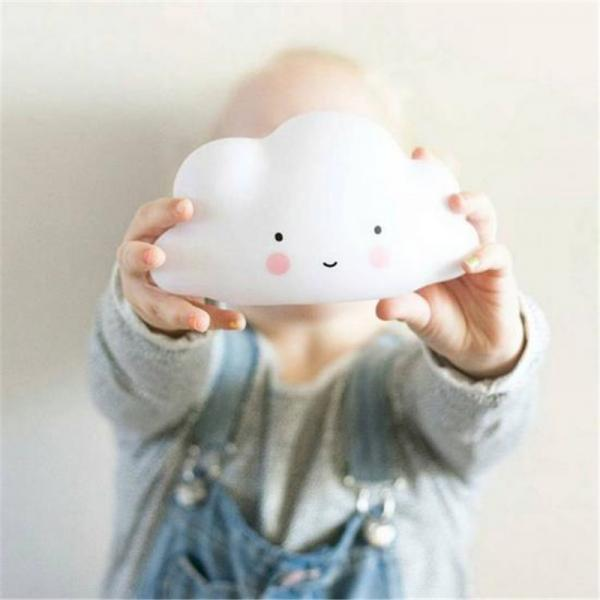 *Free Shipping* Ins Lovely White Clouds Light Children Room Decoration Night Light Plant Lights Free Shipping 32823262918