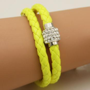 *Free Shipping* Fashion Exaggerated Vintage Double Love Charming Bracelet & Bangles For Women